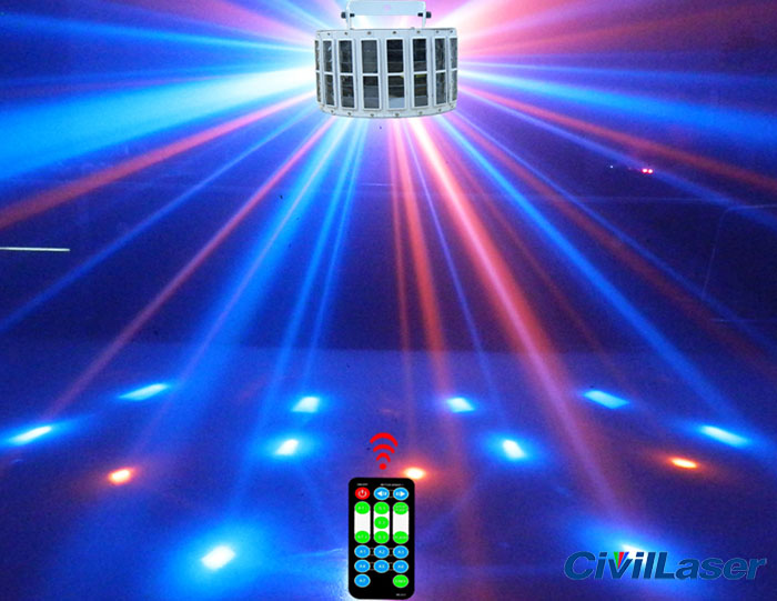 6 LED laser stage lighting DJ light